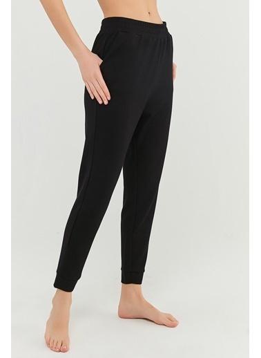 Penti Kadın Siyah Pft Cupro Jogger Pijama altı PHKMN33U21IY Siyah